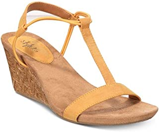 Womens Mulan Open Toe Casual Ankle Strap, Bumblebee, Size 9.0