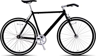Hiland Fixed Gear Bike for Men and Women Single-Speed Fixie Urban Commuter Bicycle