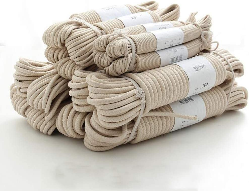 Very popular! 4mm 6mm 8mm 10mm Nippon regular agency Natural Cotton Clotheslin 75M Rope 100M 25M 50M