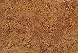 1 m² Korkfußboden zum kleben, Korkboden in grober Optik, Klebekork vorversiegelt und vorgeleimt, Designkork zum kleben, Fußboden aus Kork zum kleben, Fußboden grobe Optik - Pavo natur