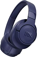 JBL Tune 750NC Over-Ear Bluetooth Noise Cancelling Headphones (Blue)