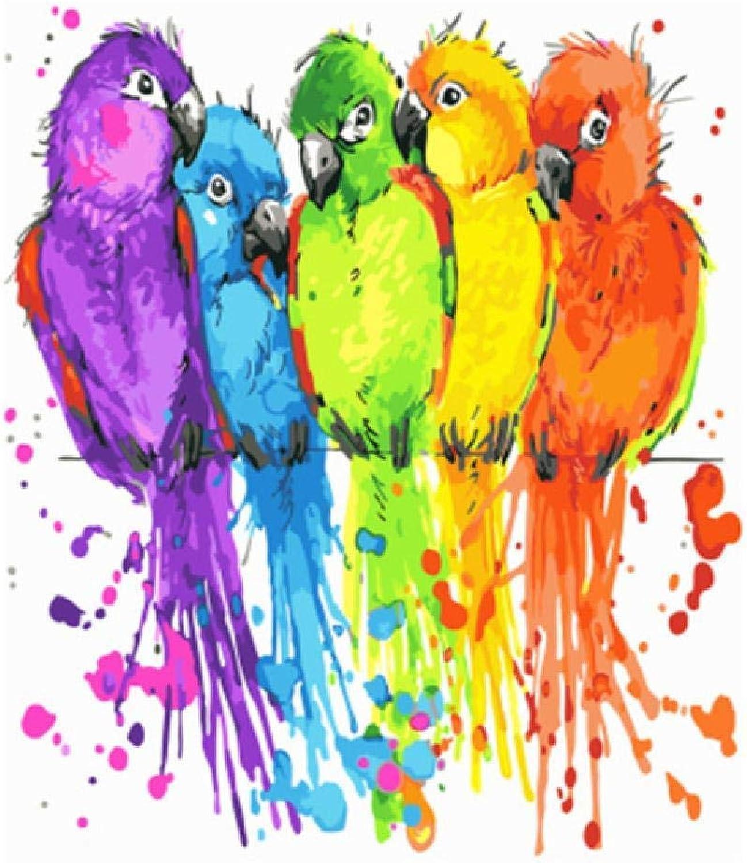 venta de ofertas Diy Pintura Digital Bird,100X180Cm Pintura Digital Lienzo Lienzo Lienzo Arte De La Parojo Obra De Arte Pintura De Paisaje Sala De EEstrella En Casa Oficina Decoración De Navidad Decoración Regalo De Los Niños Adultos  saludable