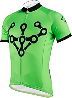 Paladin Special Cycling Men's Short Sleeve Jersey Cycling Clothing Top Wear Chain