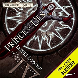 Prince of Lies     Forgotten Realms: The Avatar, Book 4              By:                                                                                                                                 James Lowder                               Narrated by:                                                                                                                                 Nicole Greevy                      Length: 12 hrs and 33 mins     117 ratings     Overall 4.4