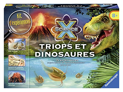 Science X - Triops et Dinosaures