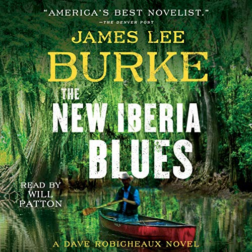The New Iberia Blues audiobook cover art