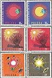 Polonia Michel.-No..: 1606-1611 (Completa.edición.) 1965 Pacíficos Sol (Sellos para los coleccionistas) El Espacio