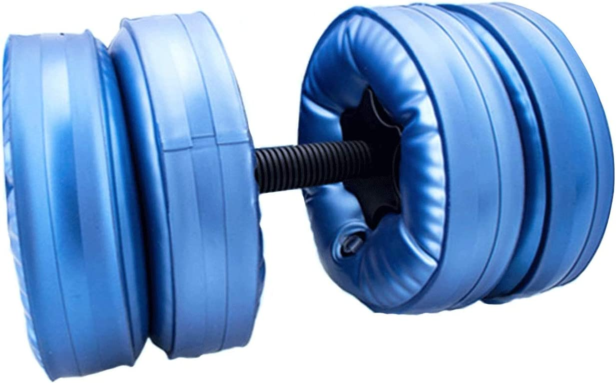Directly managed store Dumbbell Set 2pcs Weightlifting Water A surprise price is realized Adjustable Filled Barbells