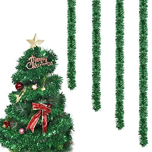 Ghirlanda di Natale Tinsel,Ghirlanda di Natale Tinsel,Ghirlanda Albero di Natale,Ghirlanda...