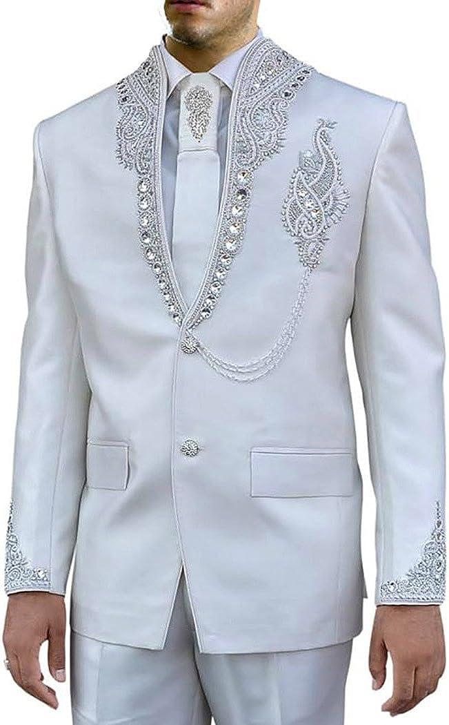 INMONARCH Mens Cream 4 Pc Jodhpuri Suit Engagement Designer JO174