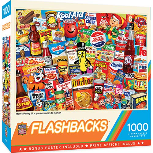 MasterPieces Flashbacks 1000 Puzzles Collection - Mom's Pantry 1000 Piece Jigsaw Puzzle For Adults