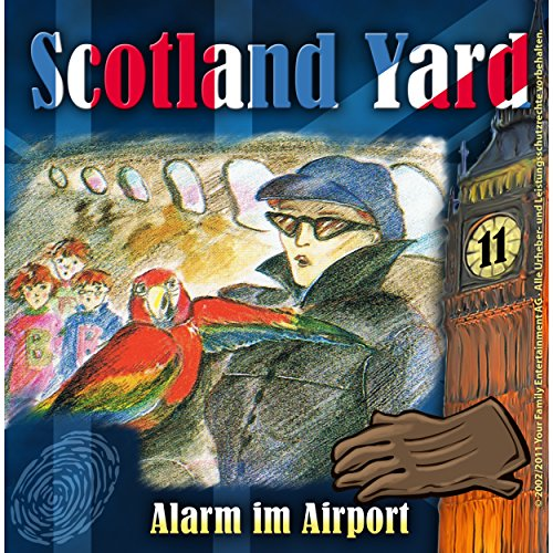 Alarm im Airport (Scotland Yard 11) Titelbild