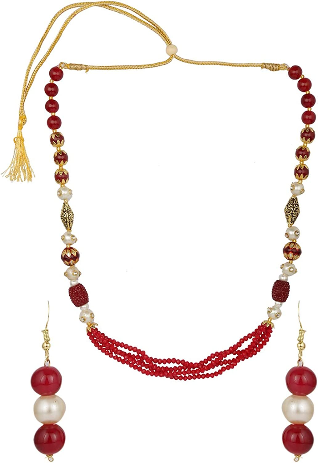 Efulgenz Boho Indian Bollywood Antique Bridal Pearl Denver Mall Easy-to-use Faux Beaded