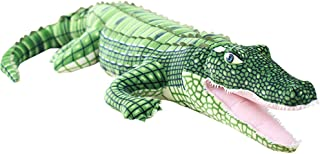 MMTTAO Alligator Stuffed Animal 39 Inch Realistic Large Crocodile Plush Toy Gifts for Kids,39Inches