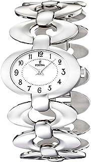 Womens Analog Quartz Watch with Stainless Steel bracelet F16547/5