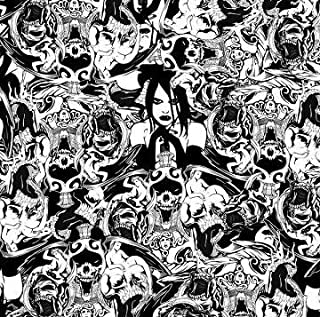 Southern Hydrographics Hydro Dipping Film - Gothic Girl - Printing Film 1SQ - High Resolution Graphics - Used For Guns, Yeti Cups, Auto Parts, And Many More - Easy To Use - Requires Hydro Activator