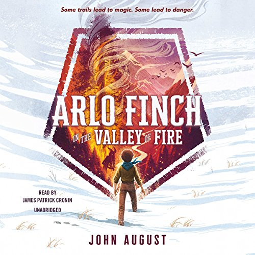 Arlo Finch in the Valley of Fire cover art