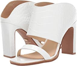 White Croco Leather