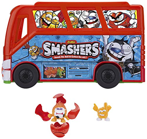 Smashers – Football Bus with 2 Figures, (Famous 700014384)