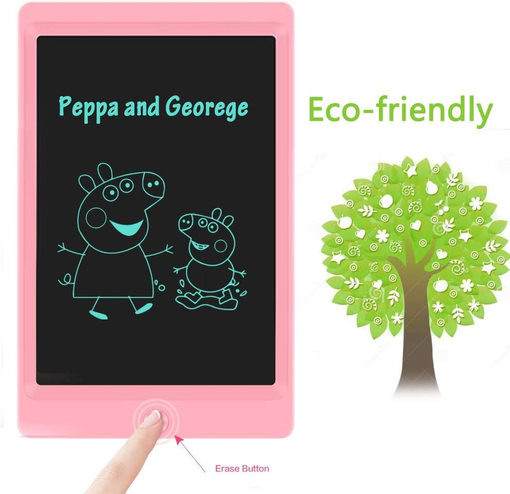 AURXONS LCD Writing Tablet Erasable Handwriting Paper Drawing Tablet for Kids Adults at Home School Office 8.5-Inch Electronic Writing Drawing Doodle Board