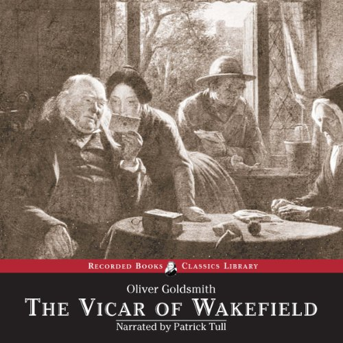 Vicar of Wakefield audiobook cover art