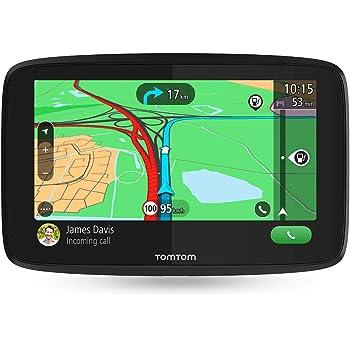 TomTom GO Essential, GPS para coche, 6 pulgadas, llamadas manos ...