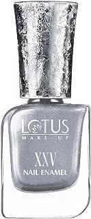 Lotus Makeup Xxv Nail Enamel Silver Struck, Silver, 10 ml