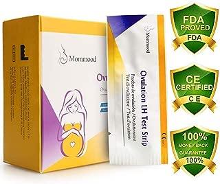 Mommood 50 (LH) Ovulation Tests & 20 (HCG) Pregnancy Test Strips Kit - Ovulation Predictor Kits (50 LH + 20 HCG Tests),High Sensitivity Result for Women Home Predictor Testing