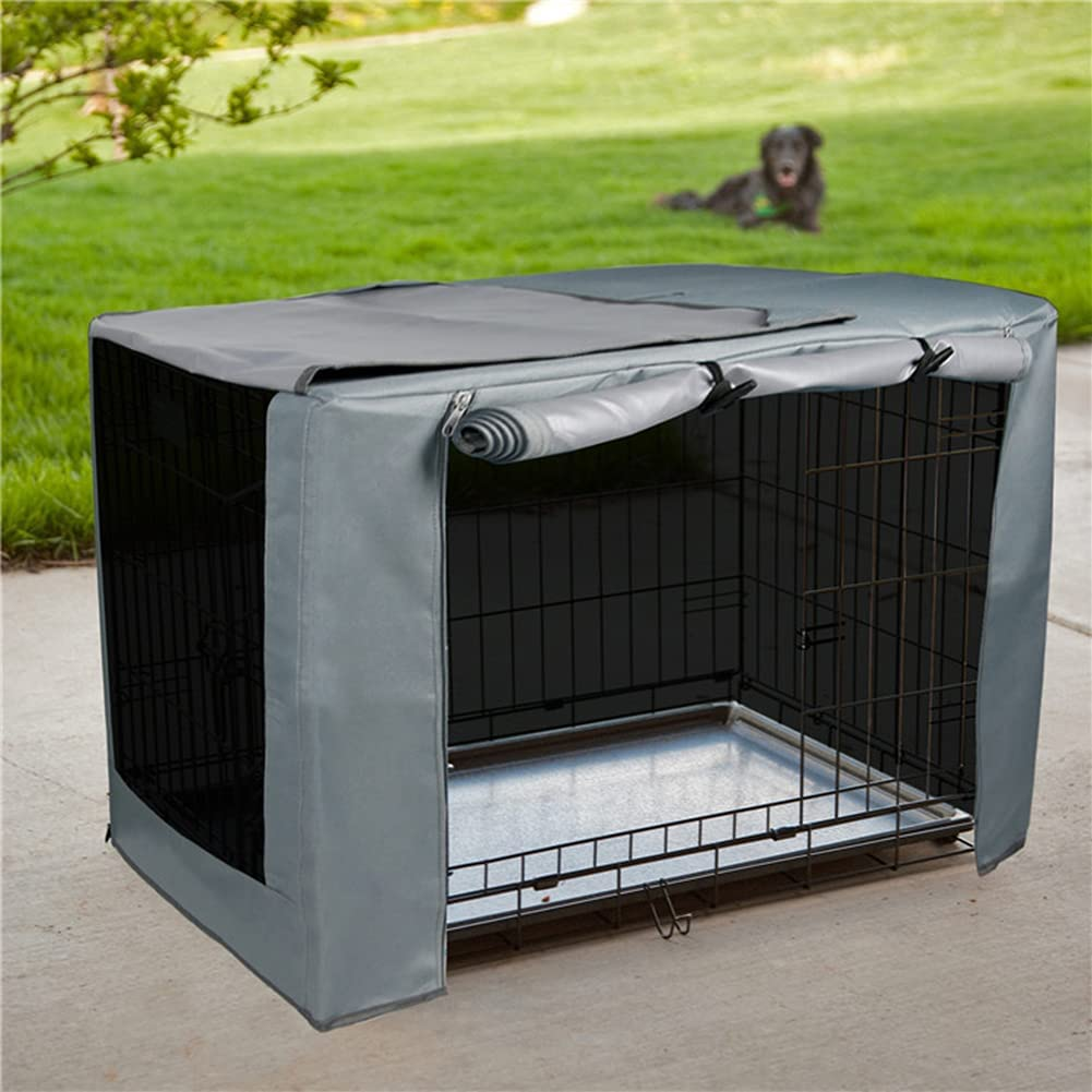 JTYX Dog Omaha Mall Crate Cover OFFicial Kennel Cage Ken Pet Oxford 600D Cloth