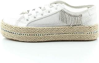 CAFE`NOIR 204 Argento Scarpa Donna Sneakers DG934
