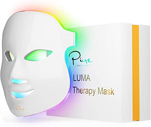 discount Luma LED Skin Therapy Mask - Home Skin Rejuvenation & Anti-Aging Light Therapy - new arrival 7 Color LED - Facial Skin Care - Skin Tightening - Wrinkles & Fine Lines - Boost Collagen - lowest Inflammation Fighter outlet online sale