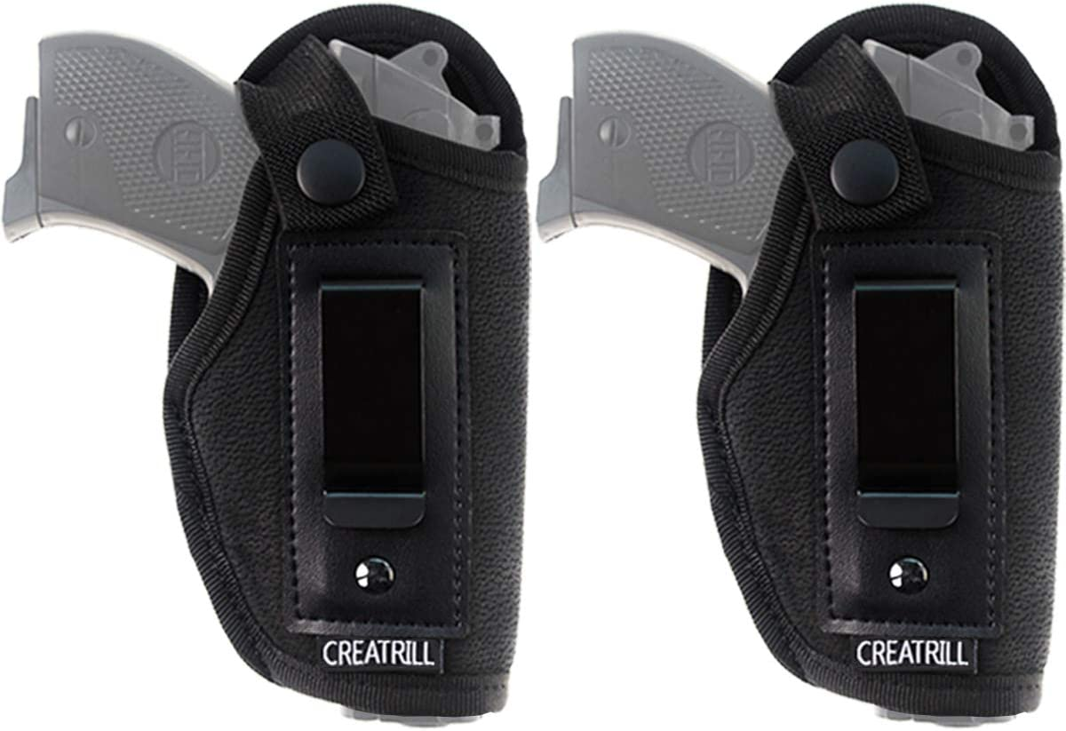 Limited time sale CREATRILL 2 Pack IWB Max 63% OFF Gun Holster Carry Concealed Wai for Inside