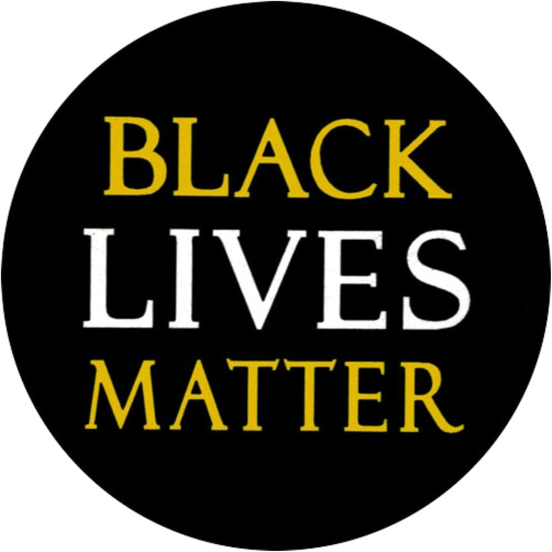 Black Lives Matter No More Racism Equality BLM Lapel Pin Badge ...