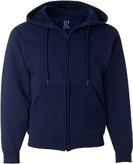 Men's Full Zip Hoodie Sweatshirt, J. Navy, X-Large