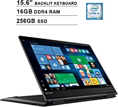 Lenovo Yoga 710 15.6-Inch FHD 1080P 2-in-1 Touchscreen Business Laptop, Intel Core i5-7200U up to 3.1GHz, Intel HD 620, 16GB DDR4 RAM, 256GB SSD, HDMI, WiFi, Bluetooth, Backlit KB, FP Reader, Win10