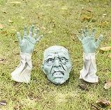 Halloween Decoration Skull Insertó Tres Conjuntos De Esqueletos Aterradores Posando Utilerías Secretas De La Barra De La Casa Fantasma