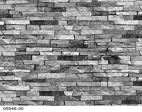 Tapete Steine Bruchsteine 05546-30
