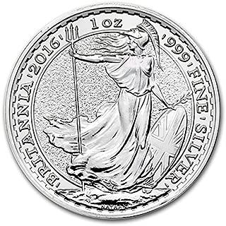 2016 britannia silver coin