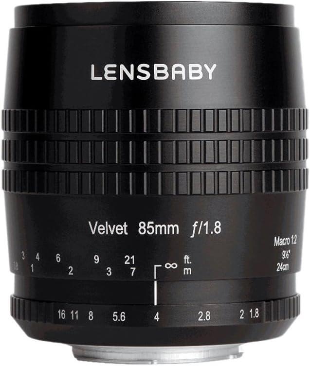 Lensbaby Velvet 85 f/1.8 עבור Canon (EF Mount)