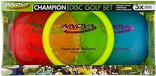 Innova - Champion Discs Golf Set – Driver, Mid-Range & Putte