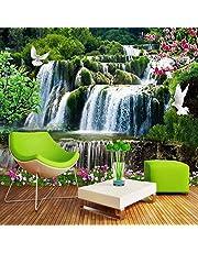 Custom 3D Mooie Natuurlijke Landschap Waterval Grote Muurschildering Wallpapers voor Woonkamer Studie Kamer Slaapkamer Achtergrond Muur Decor