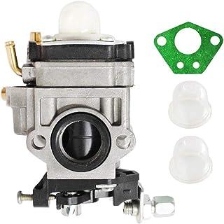 Poweka Carburetor Kit for 43cc 47cc 49cc 50cc 2 Stroke Engines 15mm Intake Hole Mini Pocket Bike Chopper Atv Quad Dirt Bik...