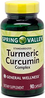 Spring Valley - Turmeric Curcumin Complex, 90 Capsules