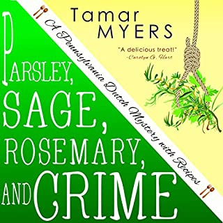 Parsley, Sage, Rosemary and Crime audiobook cover art