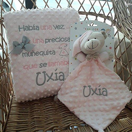 Mantas Bebe Recien Nacido Bordada mantas bebe  Marca María Esther Meijide Alonso