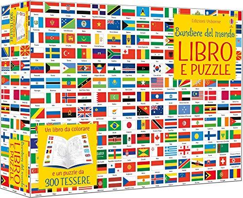 Bandiere del mondo. Con puzzle