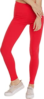 damen leggins rot BeLady Damen Leggings Knöchellang Blickdichte Leggins Viele Farben Viele Größen