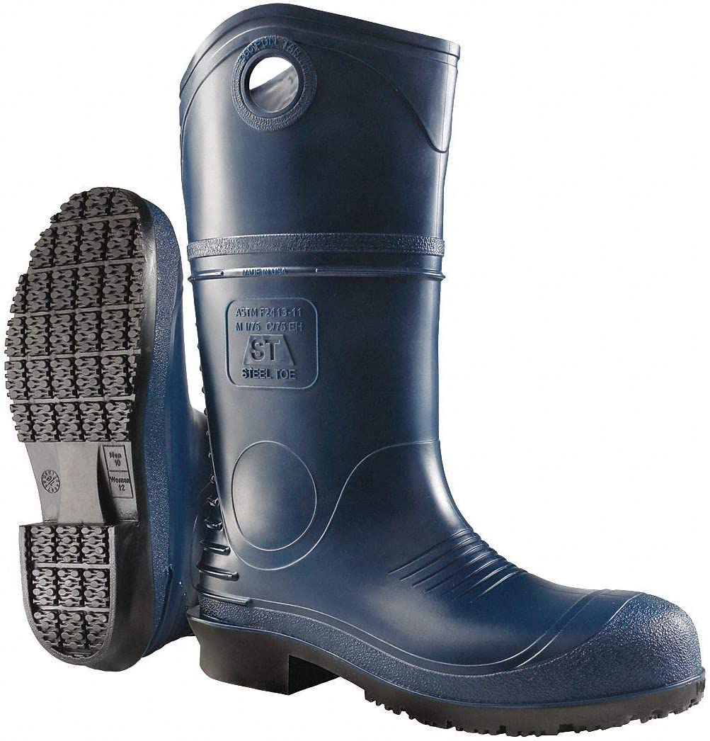 Onguard DuraPro 89085 Blue 10 Plain Toe Work Boots - 791079-15498 [PRICE is per PAIR]