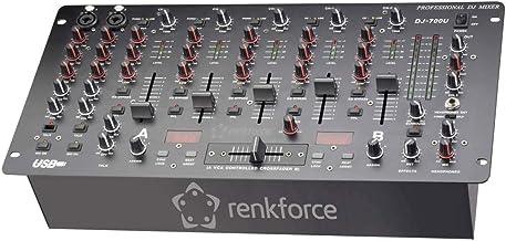 Renkforce DJM700U USB DJ Mixer 19 Zoll Einbau