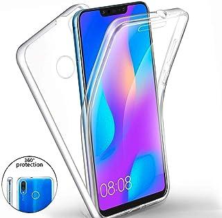 a4da4bf5dd2 XCYYOO Funda para Huawei Nova 3i/P Smart + Silicona,Carcasas[Carcasa  Protectora